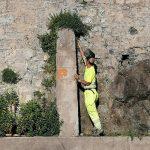 Taglio e spazzamento piazzale Marinai d'Italia Minori