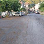 Taglio e spazzamento presso Frazione Cesarano, piazza e parcheggio Tramonti