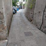 Taglio erba e spazzamento in Via Santa Croce, Frazione Pucara Tramonti