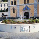 Taglio prato in piazza S.Francesco e pulizia dimorfoteche intorno alla fontana Maiori