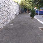 Tramonti pulizia piazzetta a Pietre