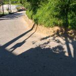 Tramonti taglio e spazzamento presso Frazione Capitignano