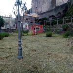 Inizio taglio presso parco giochi del Palazzo Mezzacapo Maiori