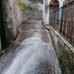 Minori lavaggio vicoli presso centro storico