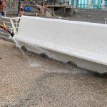 Minori sanificazione e lavaggio pontile