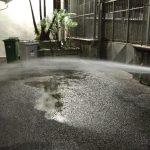 Maiori Irrigazione giornaliera e taglio prato lungomare 8