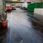 Maiori Lavaggio stradale via Demanio e Isola Ecologica