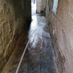 Minori lavaggio e sanificazione strada e vicoli centro storico