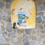 Tramonti Continuazione della pulizia cunetta e pensilina a Capitignano 6