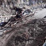 Conca dei Marini rimozione materiali e vegetazione