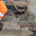 Maiori manutenzione, rimozione detriti e pulizia caditoie